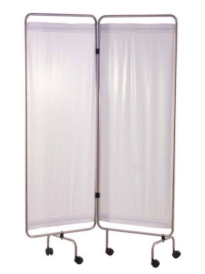 Holtex 2-panel Roestvrij stalen scherm