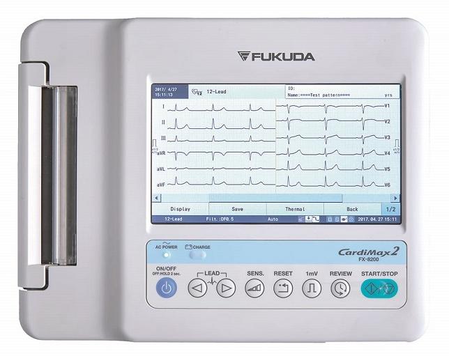 Fukuda Denshi FX-7202 CardiMax Elektrocardiograaf