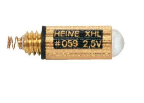 Heine 059 2,5 V Halogeen Xenon XHL lamp: