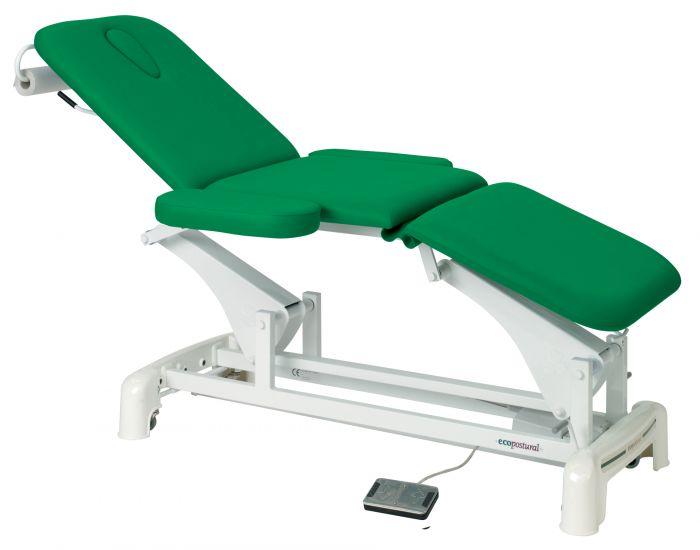 Ecopostural  C3536 3 sectie elektrische tafel, met armleggers