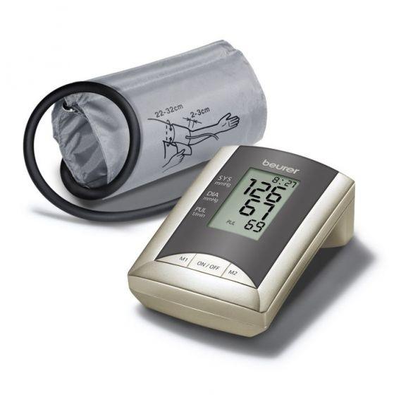 Beurer BM 20 Bovenarm bloeddrukmeter pack + adapter