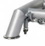 Table Ostéopathie 5044 - Détail du pied et manette pour roulettes escamotables