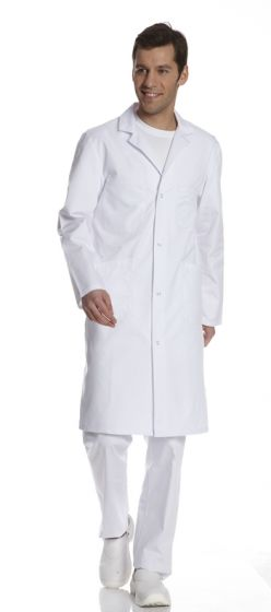 Blouse médicale blanche pour homme Bally Comed