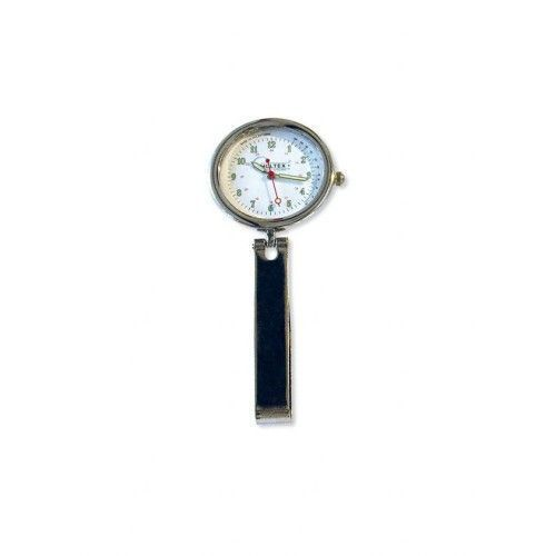 Clip horloge met zakje
