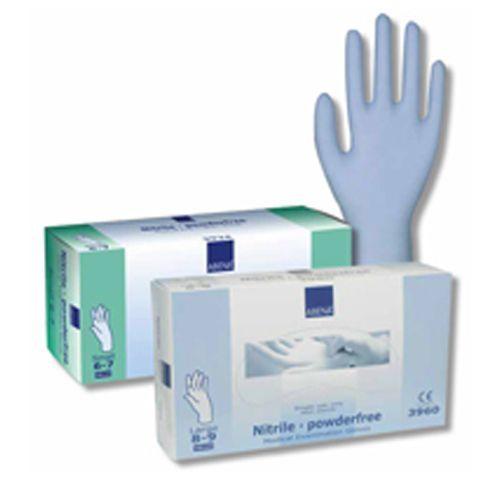 Nitril handschoenen poedervrij Abena (doos van 100)