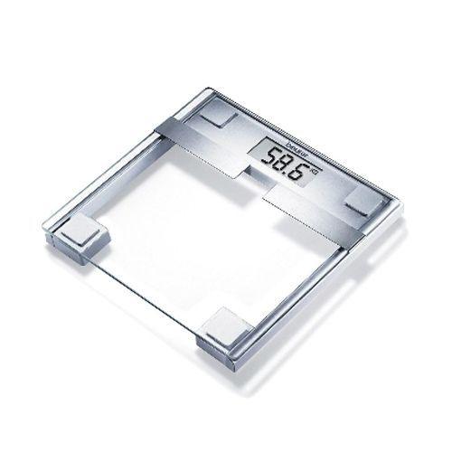 Beurer BG 22 glazen weegschaal en impedantiemeter