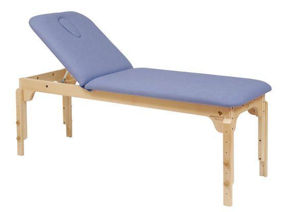 Ecopostural C3120 in hoogte verstelbare houten massagetafel