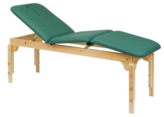 Ecopostural C3119 in hoogte verstelbare houten massagetafel