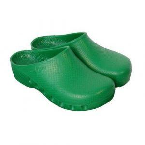 Groene ongeperforeerde Mediplog chirurgische klompen
