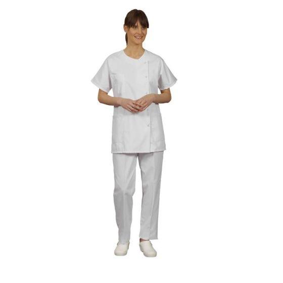 Tunique médicale femme Traxa blanc Mulliez