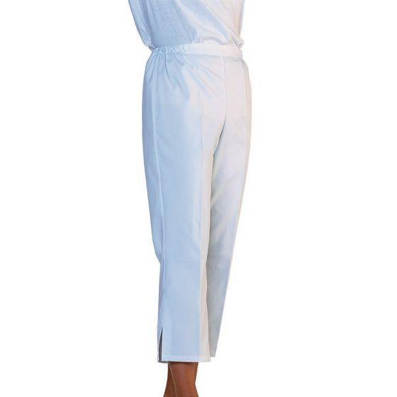 Pantacourt médical femme Plume blanc Mulliez
