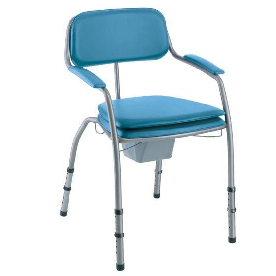 Chaise de toilette ajustable Invacare Omega H450LA Lavande