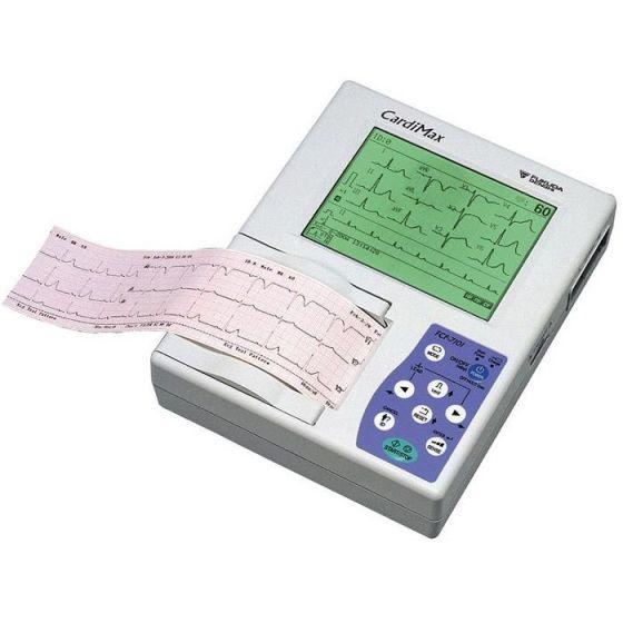 Fukuda Denshi ECG CardiMax FCP-7101 Electrocardiograaf