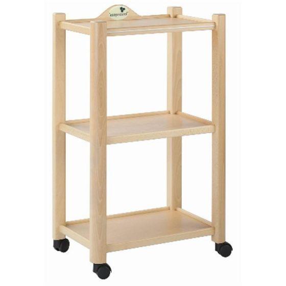 Ecopostural 3-planken trolley Ecopostural A4474