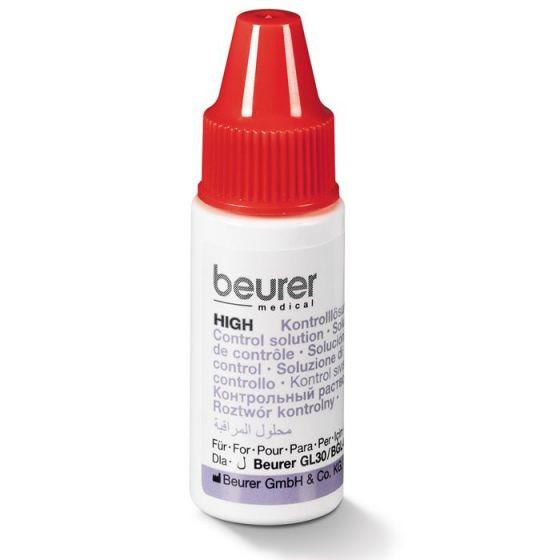 Beurer bloedglucoseregulatie oplossing HIGH (hoog meetbereik)