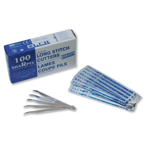 Lames coupe fils stériles à usage uniques LCH Sharpix boîte de 100