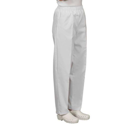Pantalon médical mixte Pliki blanc Mulliez