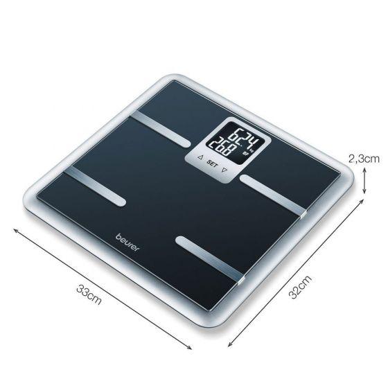 Beurer BG 40 impedantiemeter en personenweegschaal Zwart