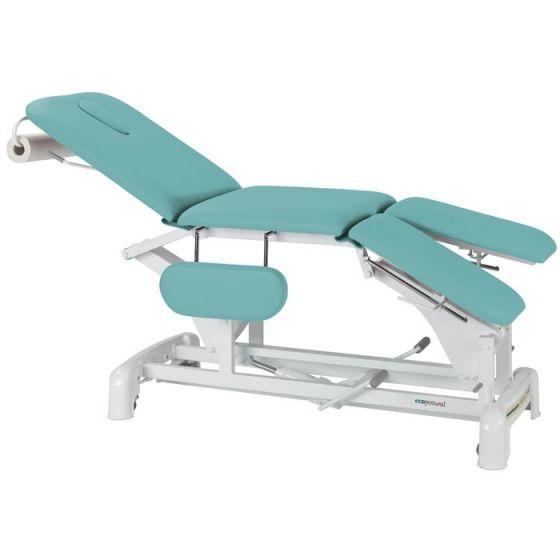 Table de massage hydraulique de podologie avec accoudoirs Ecopostural C3739