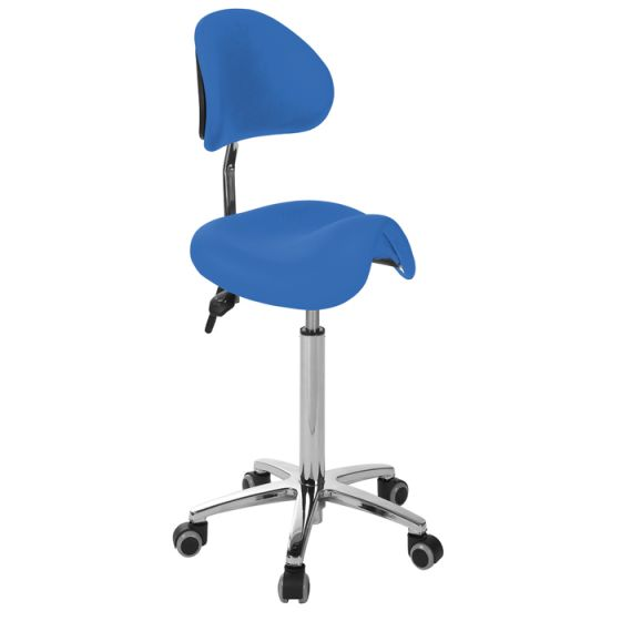 Ecopostural DERBY stool with chromium-plated base S4670
