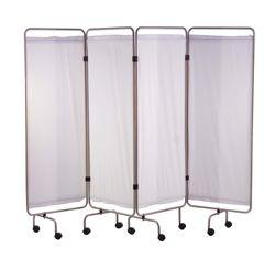 Holtex 4-panel Roestvrij stalen scherm