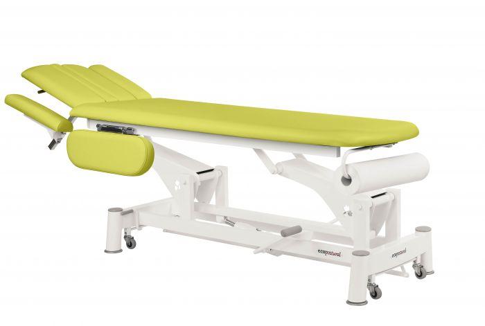Table de massage hydraulique 2 plans avec accoudoirs rabattables Ecopostural C5744